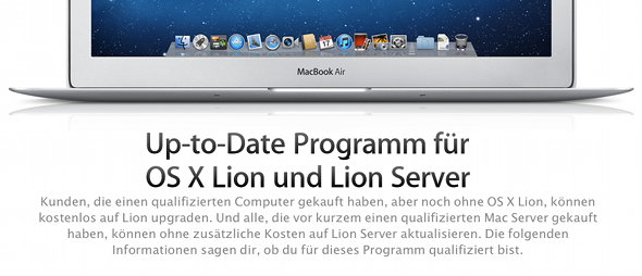 OS X Up-to-Date-Programm