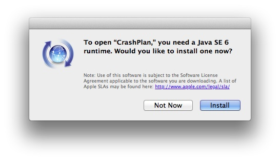 Mountain Lion Java Installation